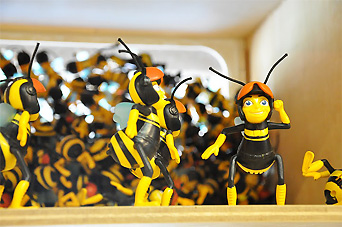 ハチのキャラクター